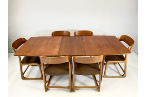 Thumb a h mc intosh 1960s teak dining table a h mcintosh 0