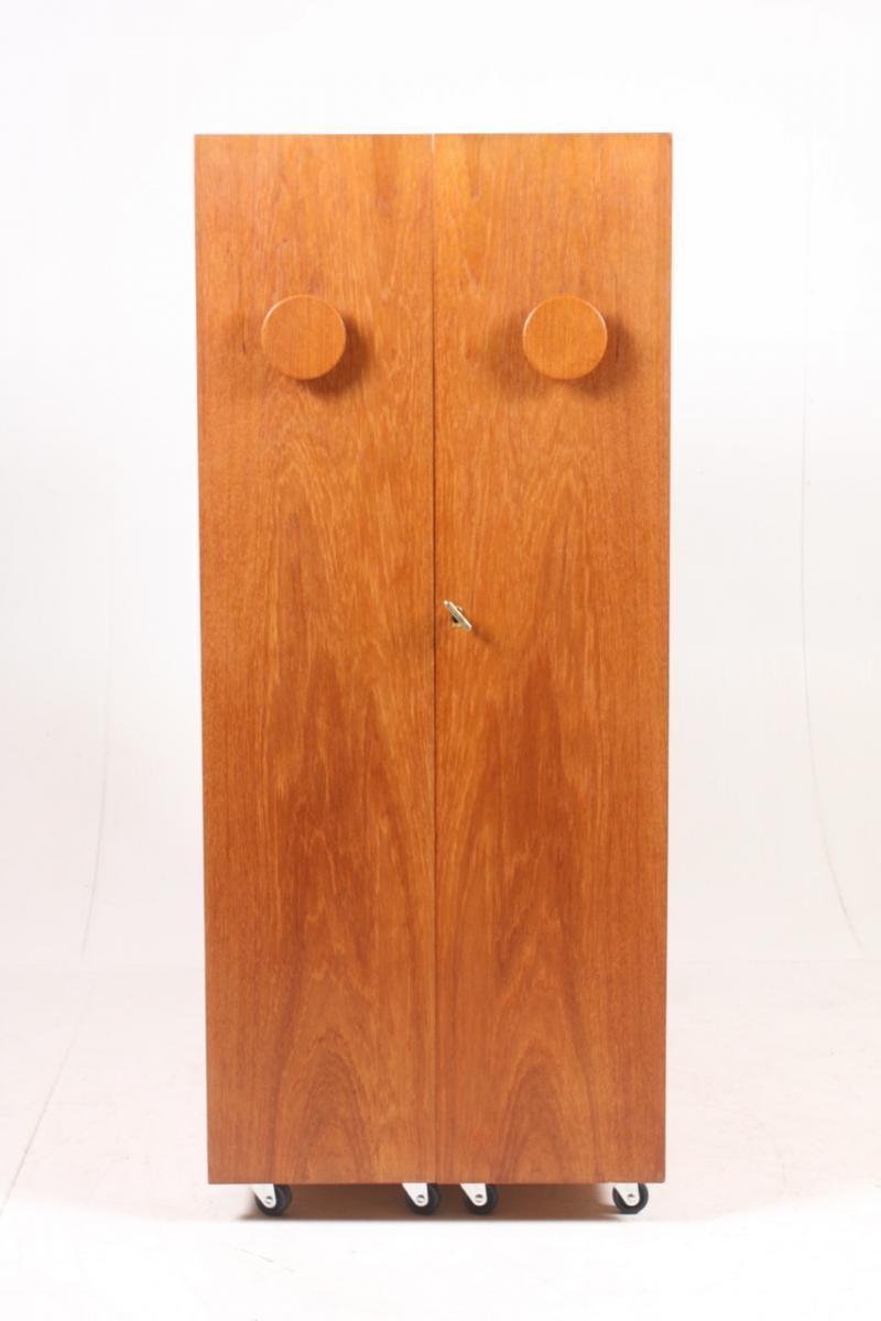 Picture of: Danish Teak Dry Bar Cabinet From Dyrlund 1960s Vinterior