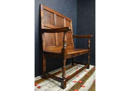 19th Century Oak Settle/Bench