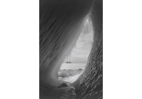 V&A Portfolio 'Ice Cavern' British Antarctic Expedition 1910 1913 Unframed Archival Pigment Print Giant
