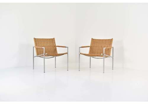 Sz01 Easy Chairs By Martin Visser For 'T Spectrum, The Netherlands, 1960s
