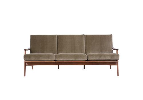 Danish Mid Century Modern Three Seat Sofa