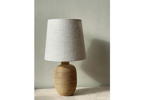 Upsala Ekeby Ceramic Table Lamp By Greta Runeborg 1930s