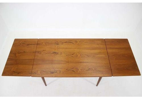 1960s Omann Jun Teak Extendable Dining Table Nr. 51, Denmark