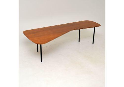 Alexander Girard Coffee Table In Walnut For Knoll Studios