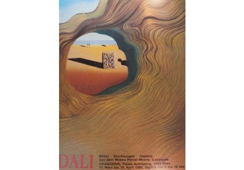 Salvador Dali   Orangery   Original Vintage Poster