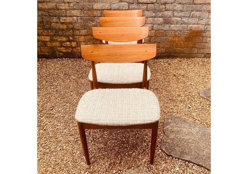 Set Of 4 Dining Chairs By Ib Kofod Larsen For G Plan, 1960s