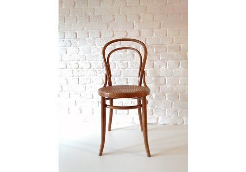 Antique Bentwood No. 14 Chair By August Türpe, Dresden