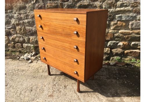Avalon Teak Chest Of Drawers