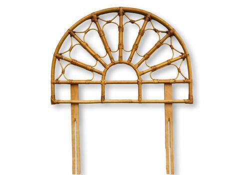 Bamboo Wicker Single Headboard