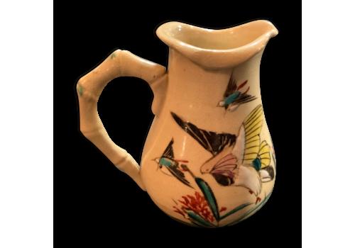 Enamelled Porcelain Pitcher