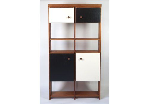 French Shelving System Or Bookcase By Charlotte Perriand, 1960s