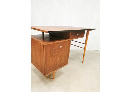 Vintage Industrial Writing Desk Desk 'Dutch Minimalism'