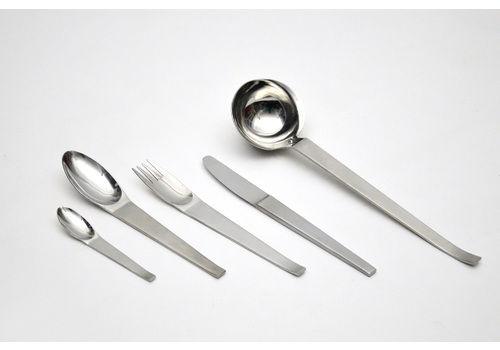 Lunik 2060 Cutlery Set By Carl Auböck For Morinox / Amboss 1950s