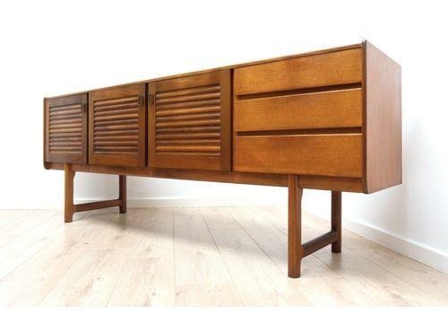 Midcentury Vintage Teak McIntosh Sideboard Credenza 1960's