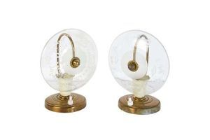 Thumb pair of midcentury murano bedside lamp 1940s 1940s 0