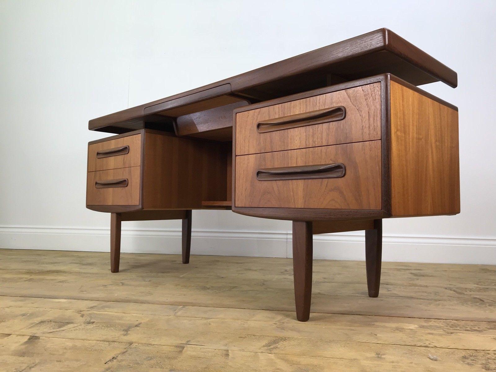 cool vintage g plan desk retro fresco floating office dressing table puter 0