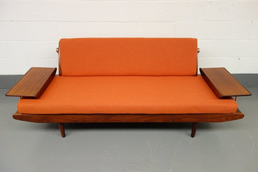 Toothill Afromosia Teak Sofa Bed