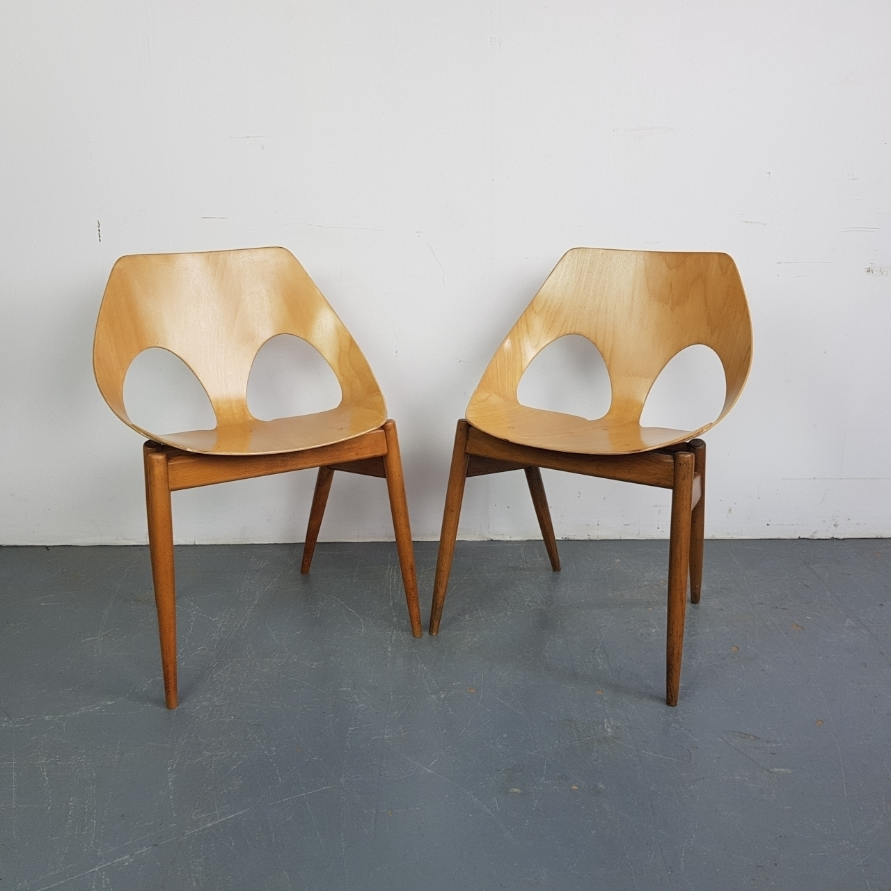 Pair Of 1950 S Carl Jacobs Kandya Jason Chairs Carl Jacobs Frank