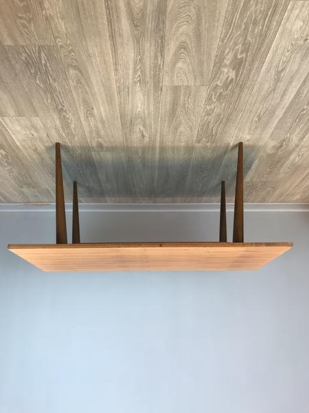 Bench, Coffee Table, Beech, 70's