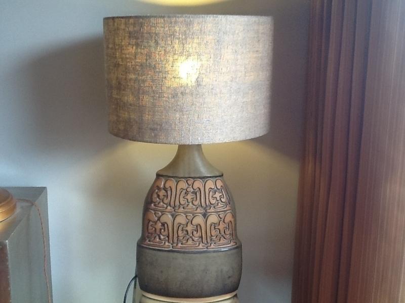 Tremar Pottery Lamp photo 1
