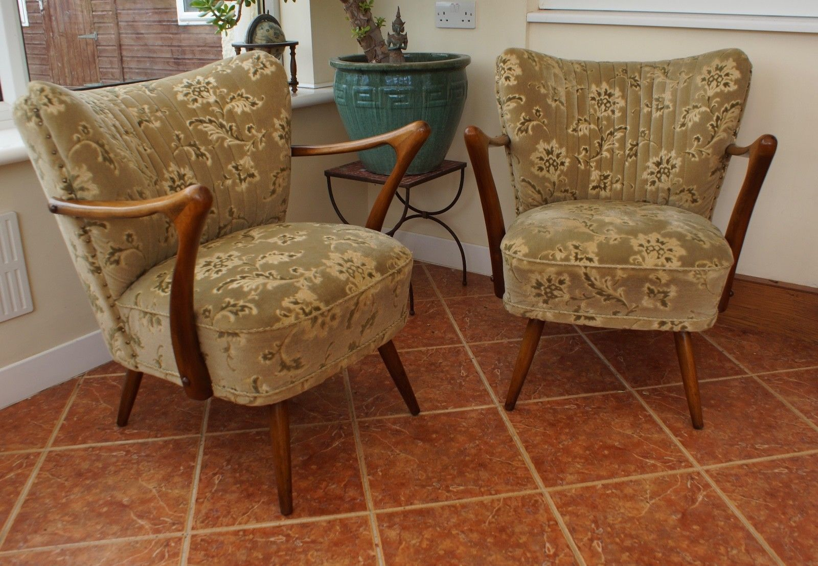 About A Chair 22 Armchair.Pair Of Mid Century Vintage German Cocktail Armchairs Chairs Apr18 22