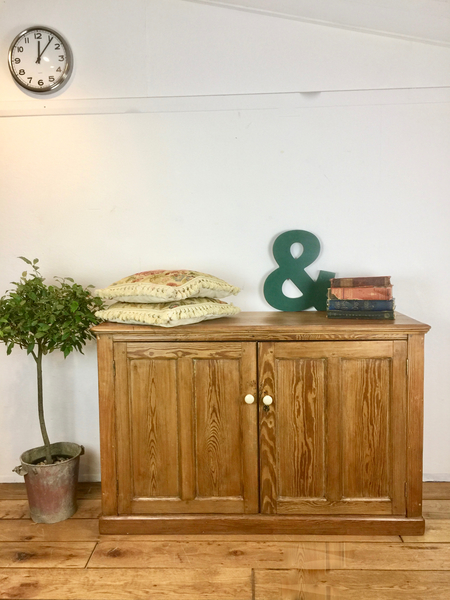 Vintage Pine Buffet, Console, Sideboard
