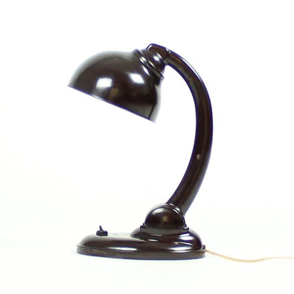 Model 11126 Bakelite Table Lamp By Eric Kirkman Cole, 1930s