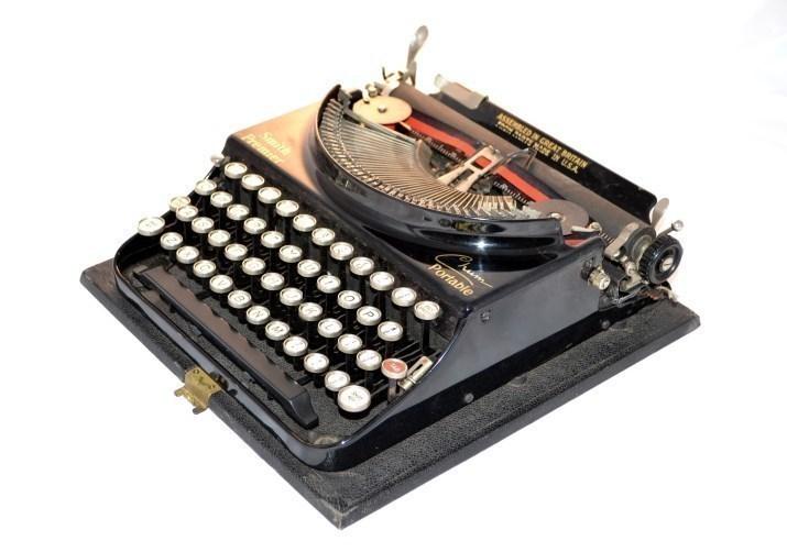 Vintage Smith Premier Typewriter