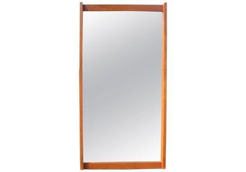 1960s Kai Kristiansen Teak Mirror No. 306 By Aksel Kjersgaard