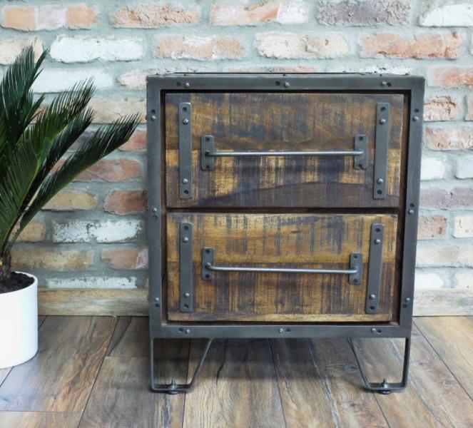 Industrial Steel Framed Cabinets