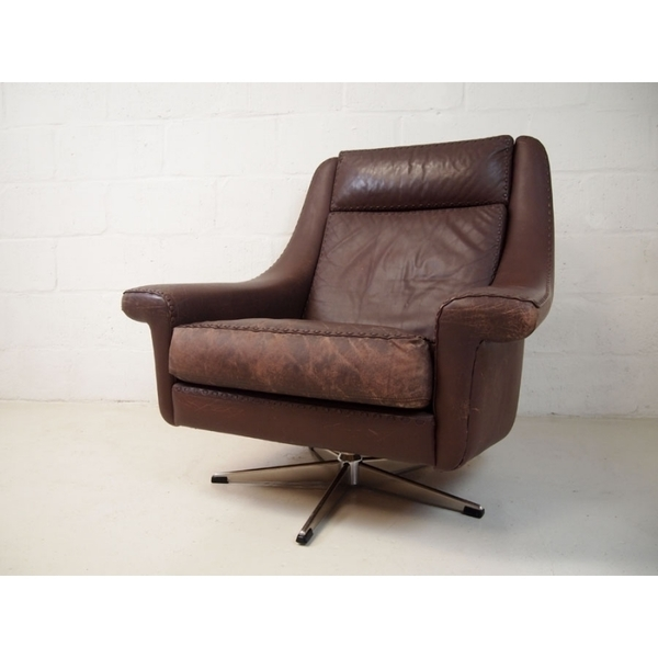 Aage Christiansen For Eran Mobler Leather Chair photo 1