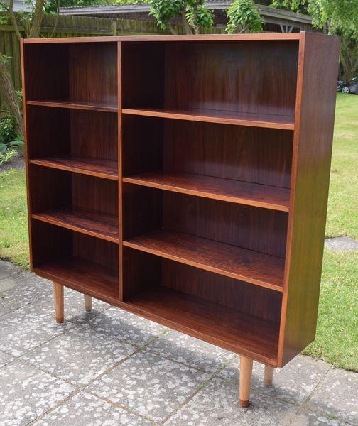Mid Century Danish Rosewood Bookshelf, Viby Møbelfabrik