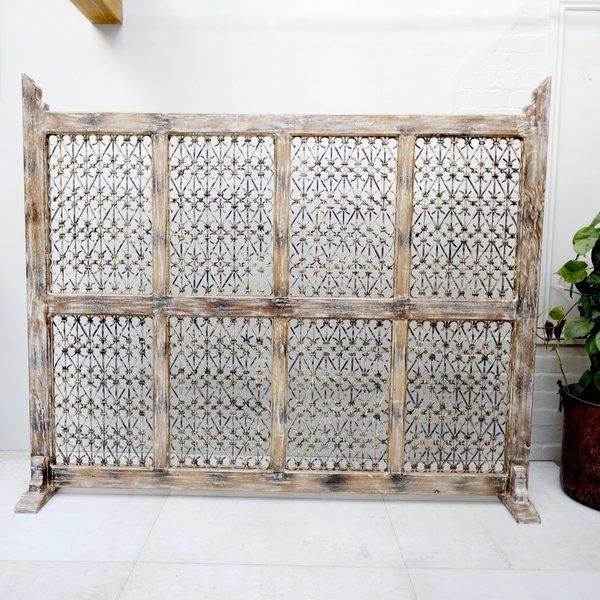 Handmade Wooden Screen