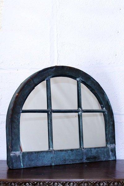 Antique Copper Window Mirror