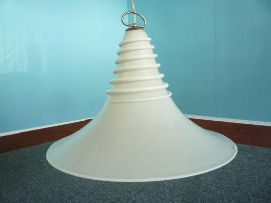 Murano Glass Pendant Lamp By Vistosi, 1960s