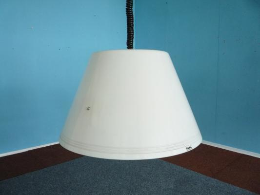 White Vintage Hanging Lamp From Harvey Guzzini