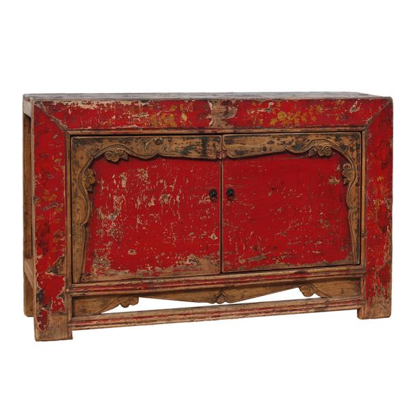Vintage Chinese Sideboard From Gansu