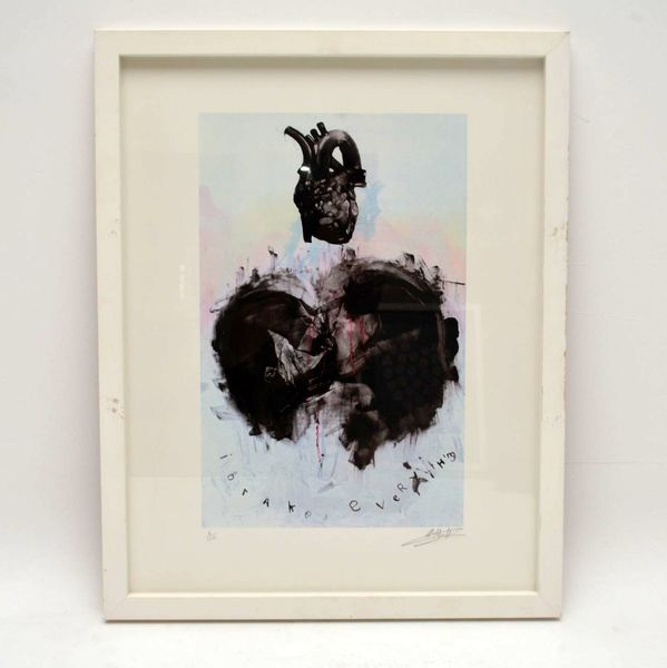 I Brake Everything – Signed Limited Edition Silkscreen Print By Antony Micallef 6/150