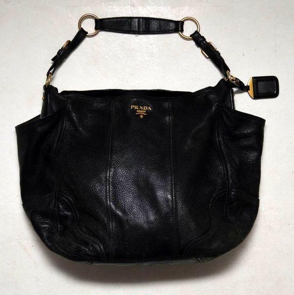 Vintage Leather Prada Ladies Handbag
