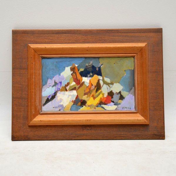 'Alpine Dream' – Original Oil Painting By Hugh Micklem