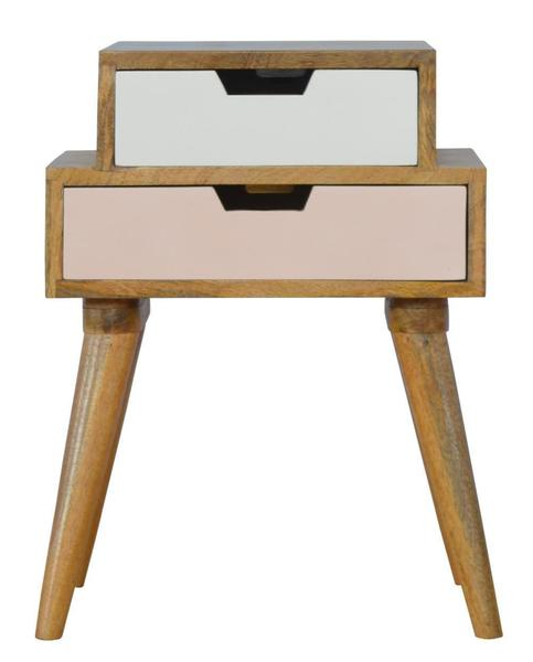 2 Drawers Bedside Table