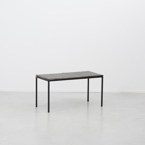 Floris Fiedeldij For Artimeta Soest Slate Side Table photo 1