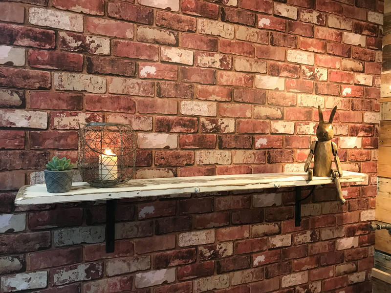 Shelf, Storage Shelf, Wooden Shelf, Wall Shelf, Kitchen Shelf, Bedroom Shelf, Antique Shelf Taken From Old Welsh Farmhouse C1940s
