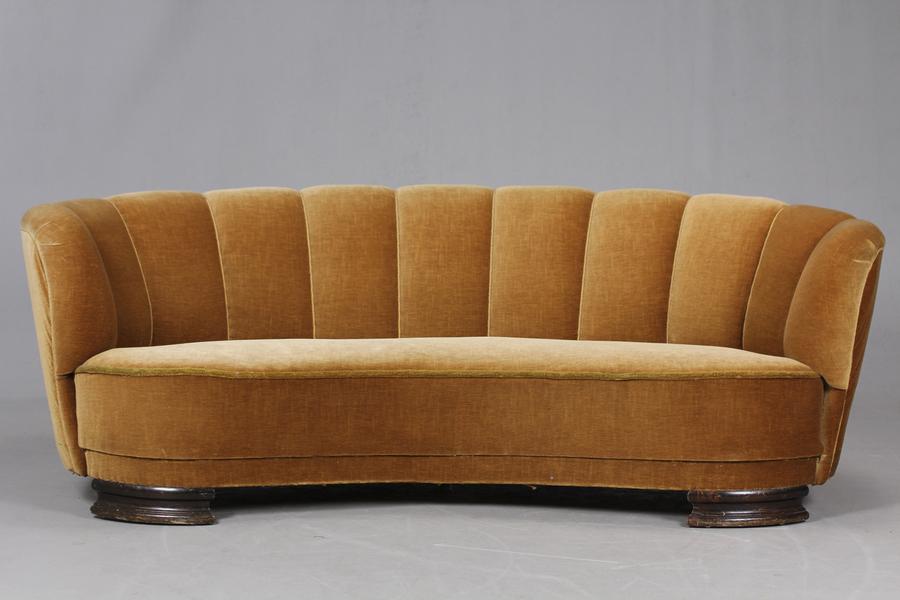Danish Banana Sofa 1940/50's