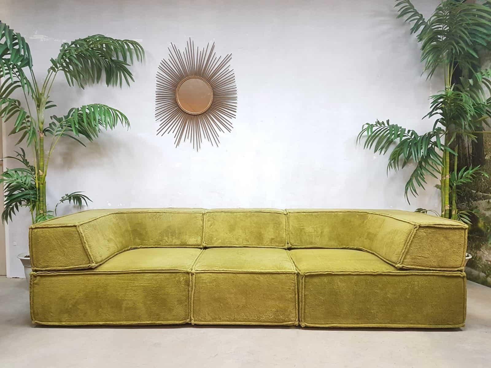 Design Bank Cor.Bohemian Style Vintage Design Lounge Bank Modular Sofa Cor Team
