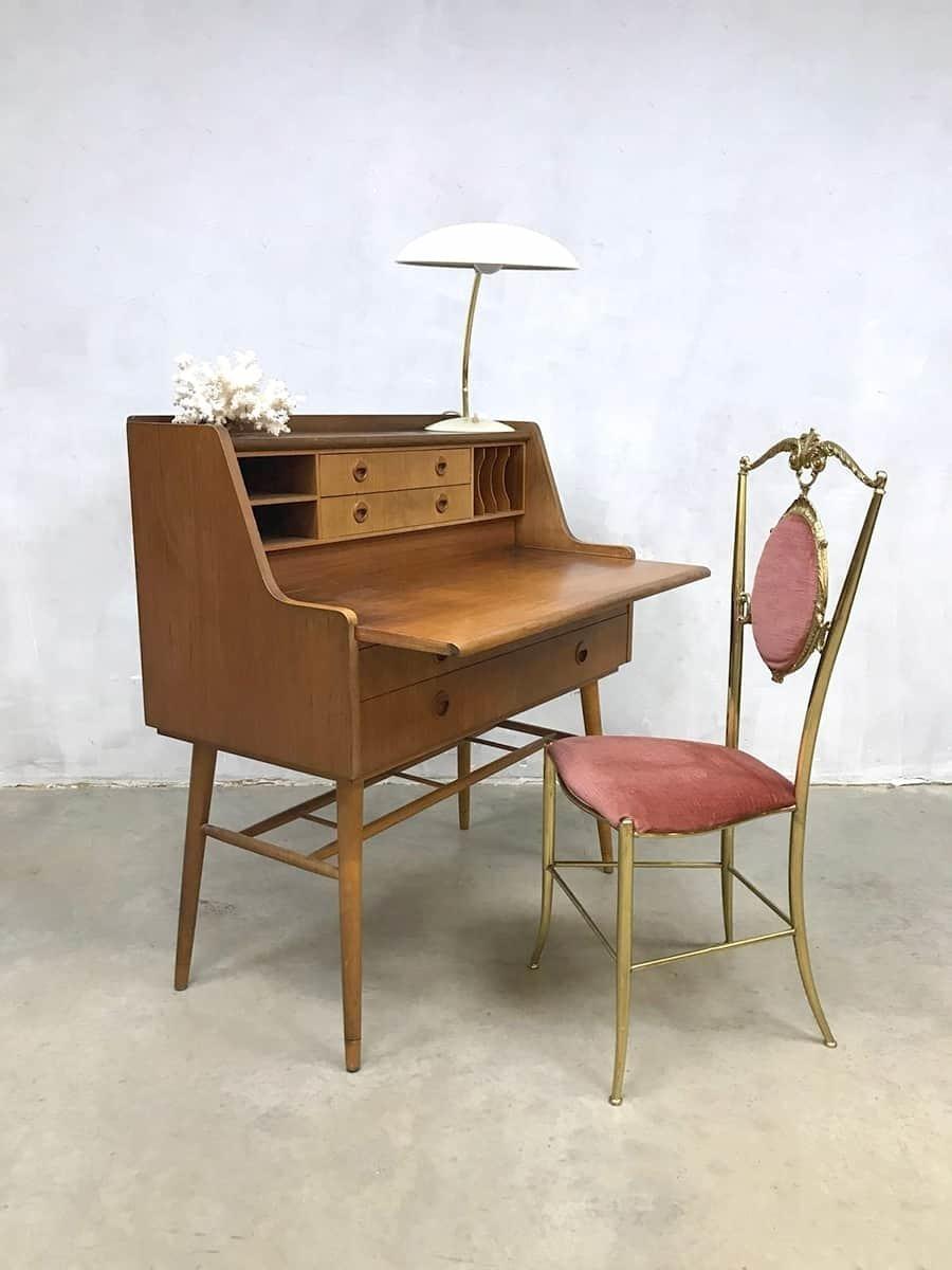 Picture of: Danish Vintage Design Desk Secretary Mid Century Modern Desk Vinterior